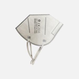 Vue sur le masque de protection FFP2 - Qualité supérieur