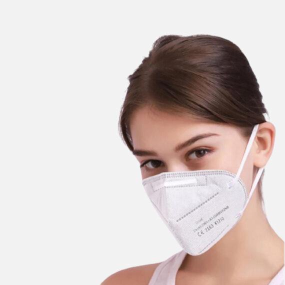 Masques de protection de type FFP2 - Sijijie sur mannequin