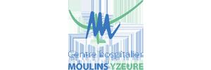Logo du centre hospitalier de Moulins Yzeure